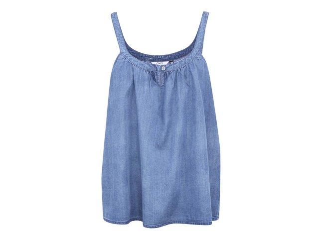 Modrý džínový top ONLY Tyra