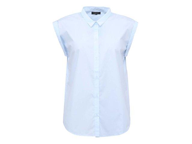 Světle modrá volnější košile b.young Hafti