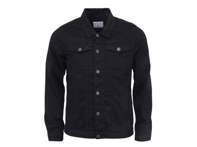 Černá džínová bunda Shine Original