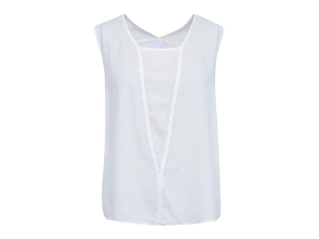 Bílý volnější top Vero Moda Audrey