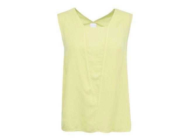Limetkově zelený volnější top Vero Moda Audrey