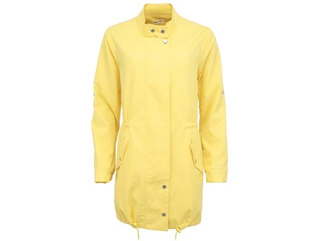Žlutá delší bunda  GINGER+SOUL