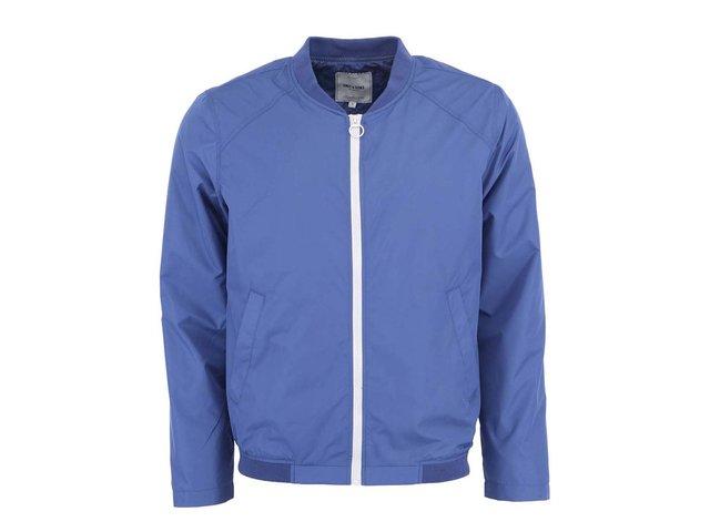 Modrá šusťáková bunda ONLY & SONS Jim