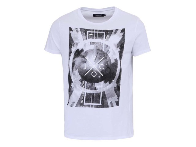 Bílé pánské triko Voi Jeans Optic