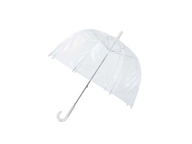 Průhledný deštník se srdíčky v rukojeti Lindy Lou Heartdome