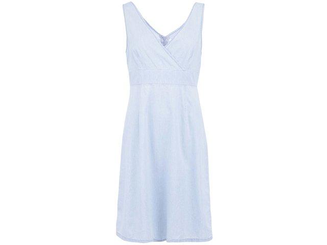 Světle modré denimové šaty Vero Moda Just Josephine
