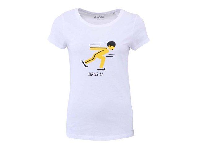Bílé dámské tričko ZOOT Originál Brus lí
