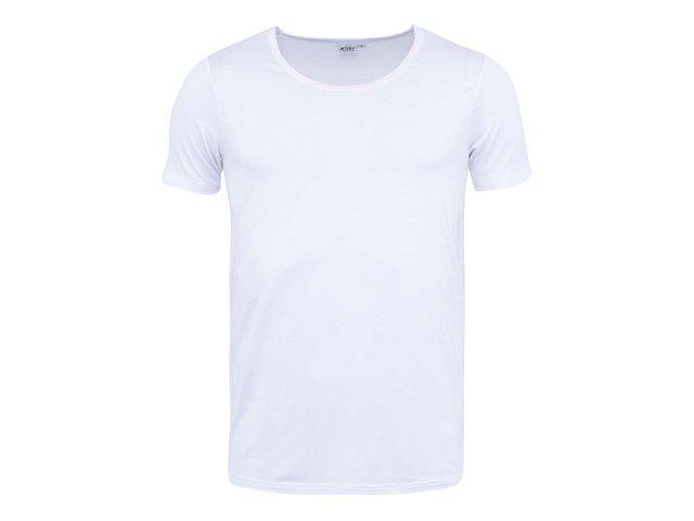 Bílé bambusové triko pod košili Bambutik Classic