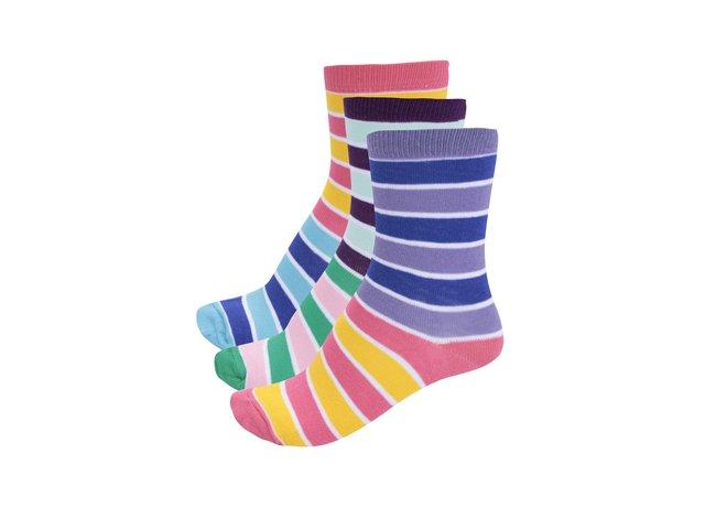 Sada tří dámských ponožek Oddsocks Emma