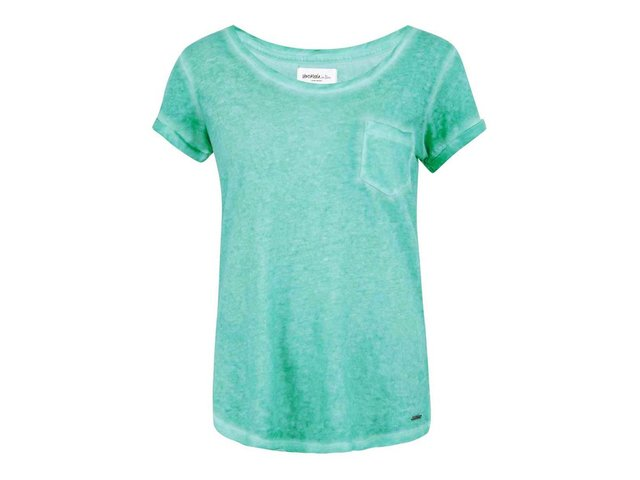 Tyrkysové tričko s kapsičkou Vero Moda Irma