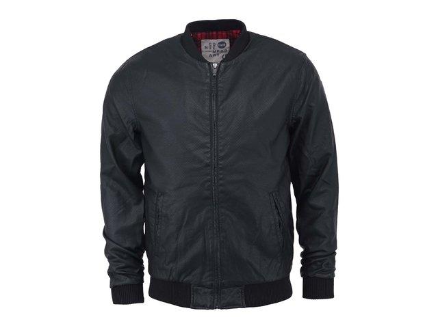 Černá koženková bunda !Solid Neil