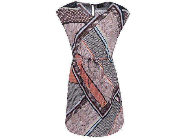 Barevné vzorované šaty VILA Visapril