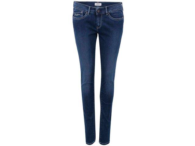 Tmavě modré dámské skinny džíny Pepe Jeans Pixie
