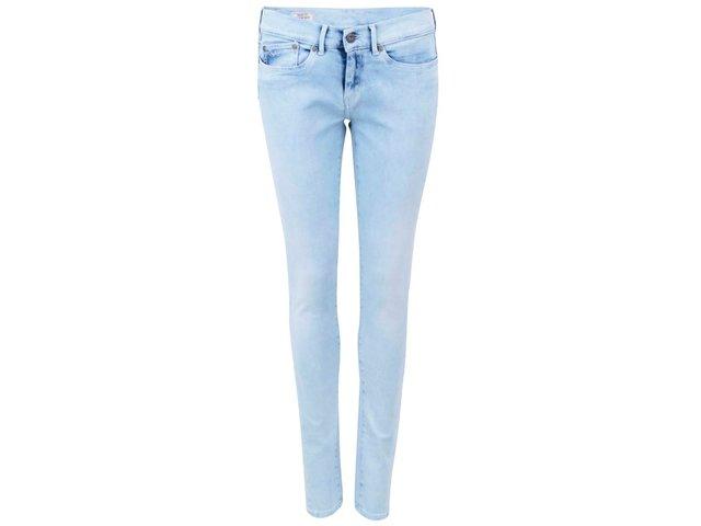 Světle modré skinny džíny Pepe Jeans Pixie