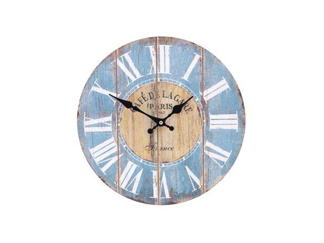 Dřevěné hodiny Dakls Café de Lagape