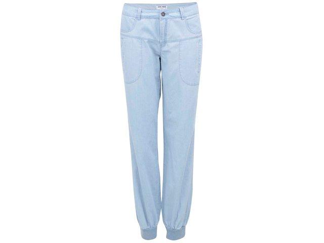 Světle modré denimové volné kalhoty Vero Moda Just Mojo