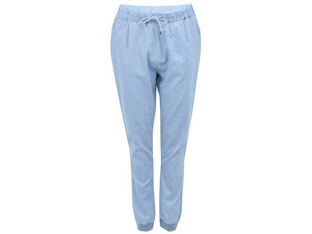 Světle modré denimové volné kalhoty Vero Moda Just Easy