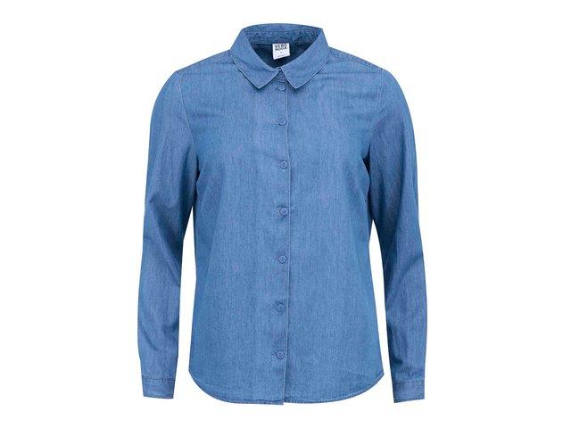 Modrá denimová košile Vero Moda Just
