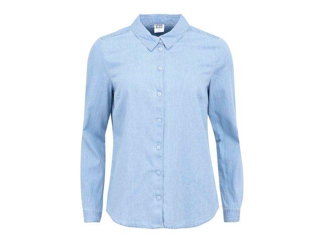 Světle modrá denimová košile Vero Moda Just