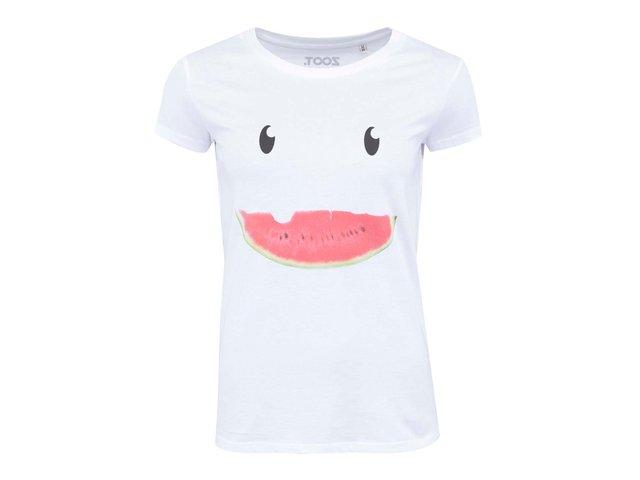 Bílé dámské tričko ZOOT Originál Meloun