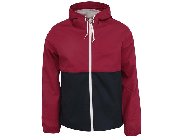 Modro-červená nepromokavá bunda Element Alder Two Tones