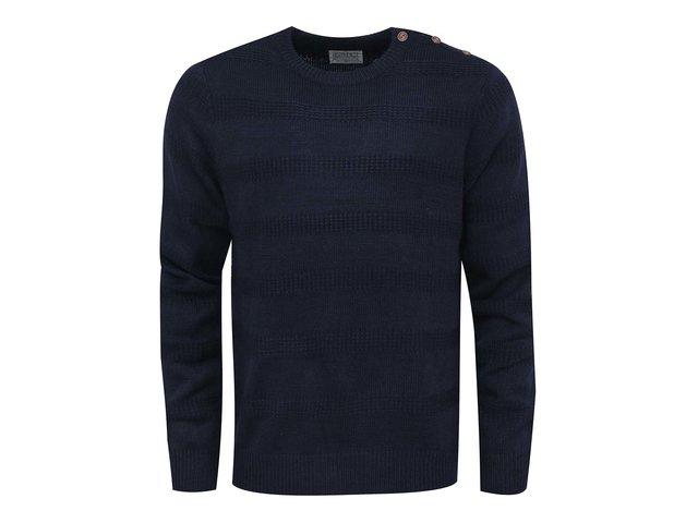 Tmavě modrý svetr D-Struct Esbjerg