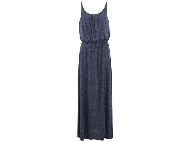 Tmavě modré dlouhé šaty ONLY New Nashville