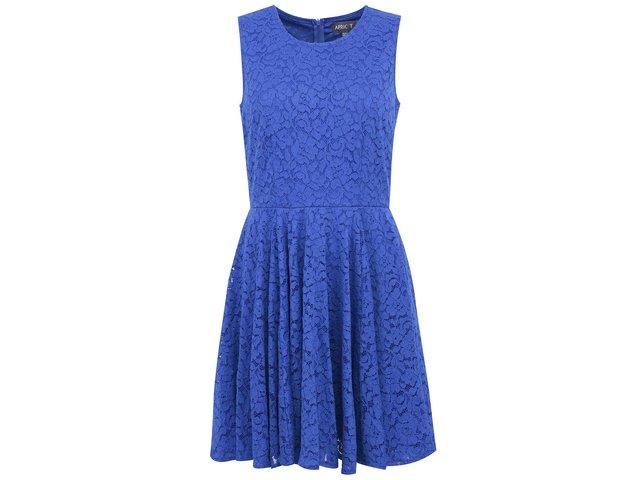 Modré krajkované šaty Apricot