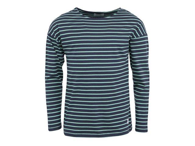 Zeleno-modré pruhované triko ONLY & SONS Lalo Boat