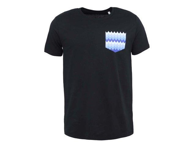 Černé pánské triko ZOOT Lokál Kapsa
