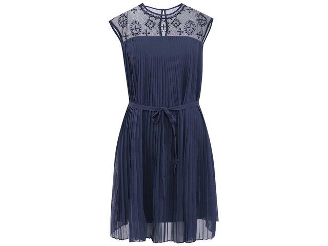 Tmavě modré šaty Vero Moda Pleasure