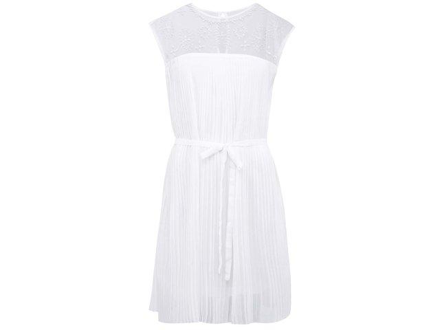 Bílé šaty Vero Moda Pleasure