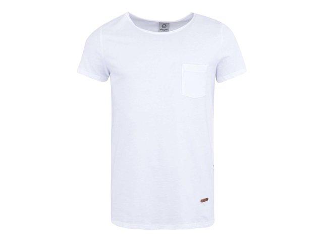Bílé triko s kapsou Bertoni