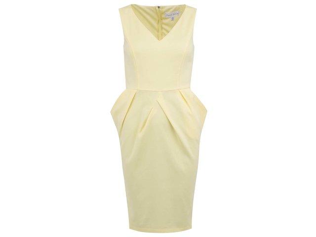 Žluté elegantní šaty Paper Dolls