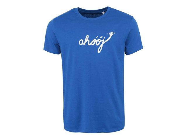 Tmavě modré pánské triko ZOOT Originál Ahoj