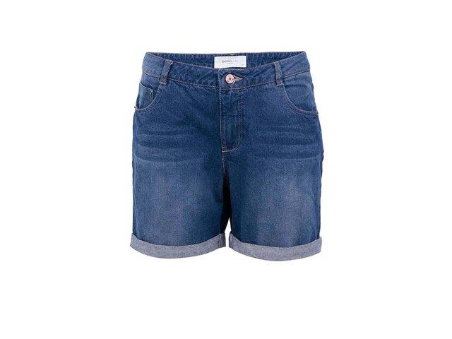 Tmavě modré džínové kraťasy Vero Moda Adele