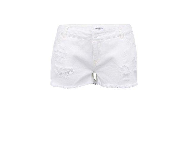 Krémové džínové kraťasy Vero Moda Paula