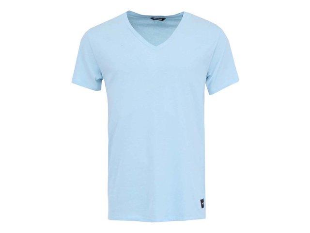 Světle modré triko ONLY & SONS Cave