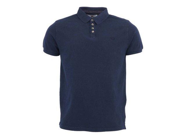 Modré pánské polo triko Bellfield Dale