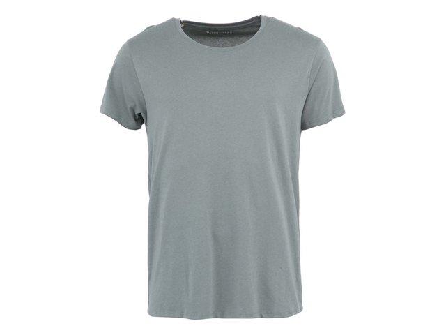 Zelené triko Selected Pima