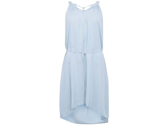 Bledě modré šaty Vero Moda This Friday