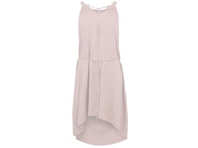 Světle růžové šaty Vero Moda This Friday