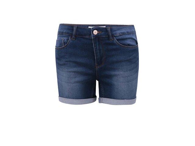 Tmavě modré džínové kraťasy Noisy May Extreme