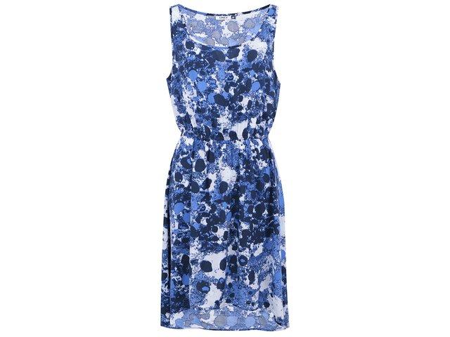 Modré vzorované šaty ONLY Solero