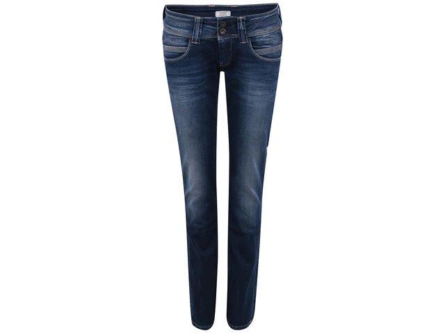 Modré bokové dámské džíny Pepe Jeans Venus