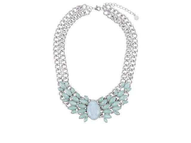 Mentolový náhrdelník Pieces Noralyn