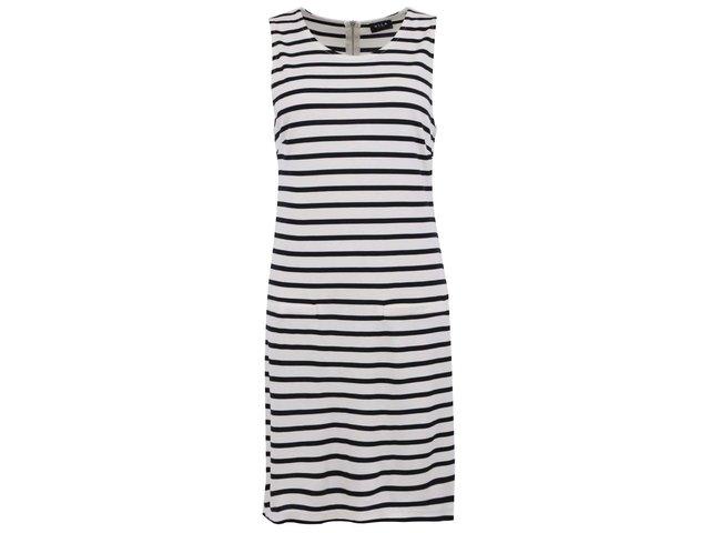 Krémové šaty s pruhy VILA Term