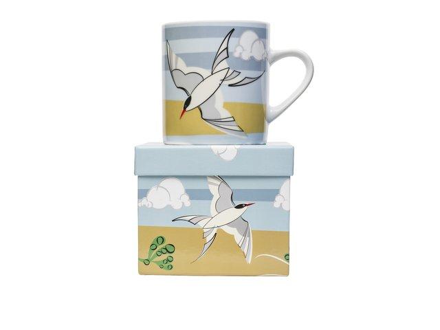 Porcelánový hrnek s dárkovou krabičkou Magpie Common Tern