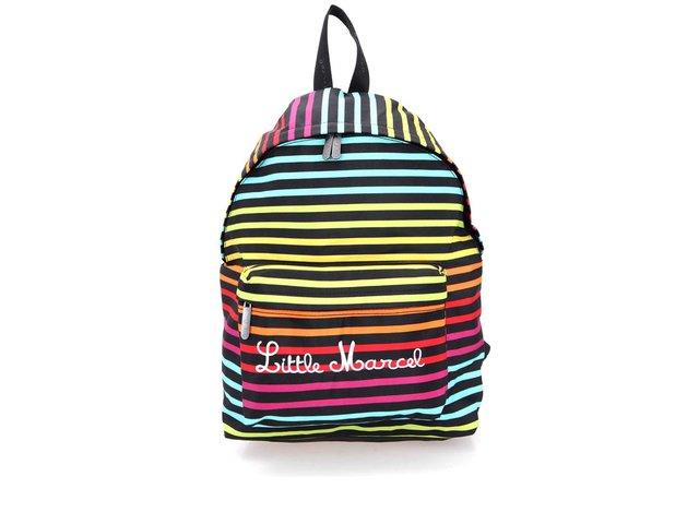 Barevný pruhovaný batoh Little Marcel Niby