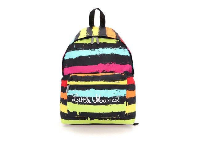Barevný pruhovaný batoh Little Marcel Niby P